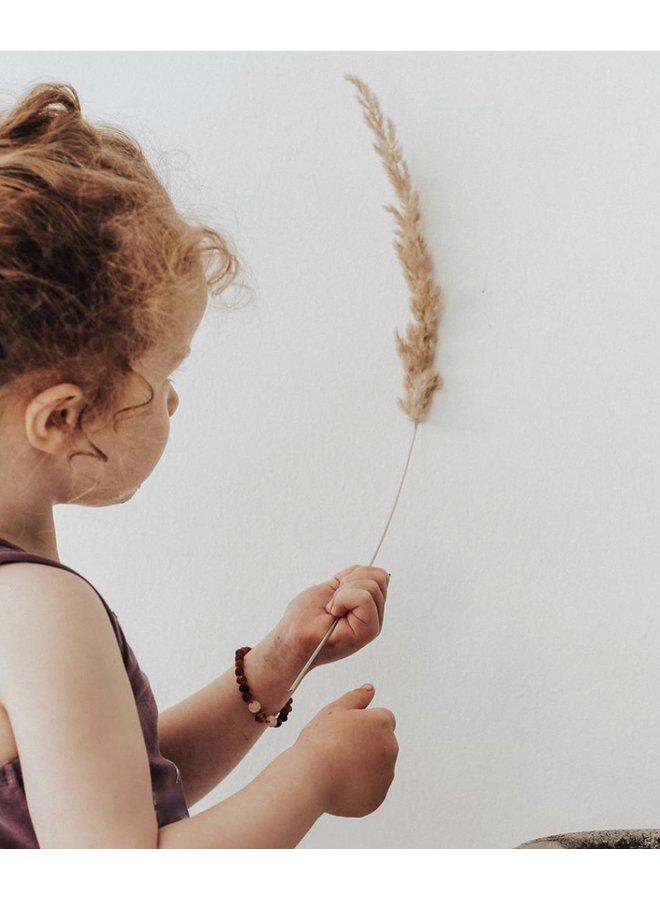 Kinderarmband barnsteen - isolde