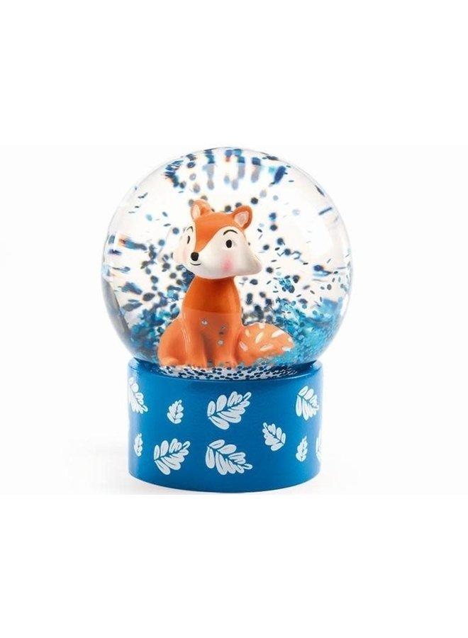 Mini sneeuwbol - vosje