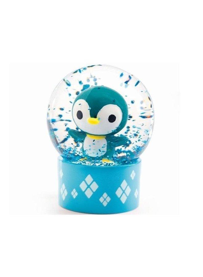 Mini sneeuwbol - pinguïn