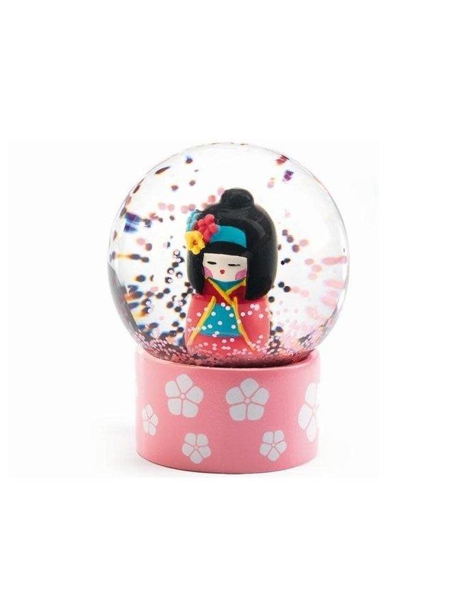 Mini sneeuwbol - Geisha