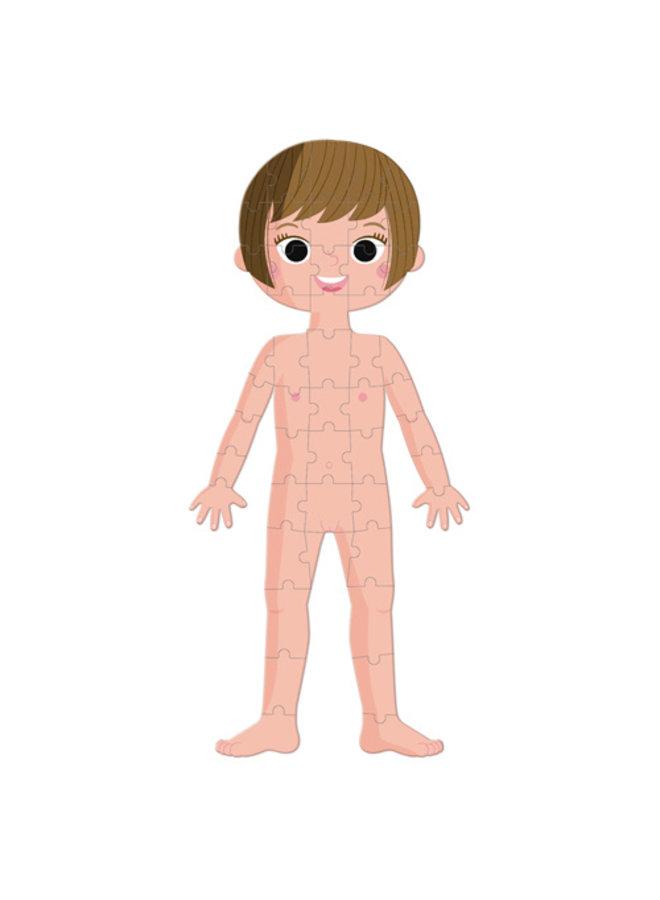 Educatieve puzzel - Het menselijk lichaam