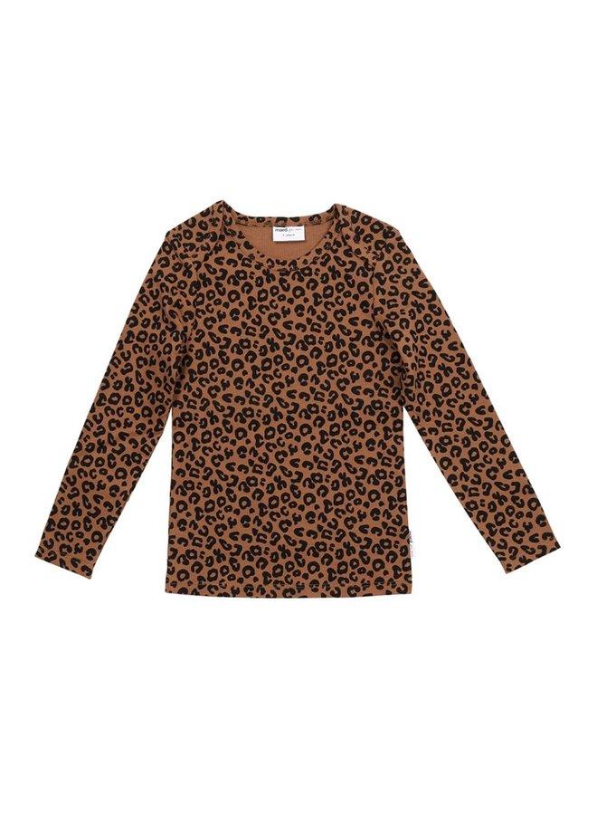 Chocolate leopard long sleeve