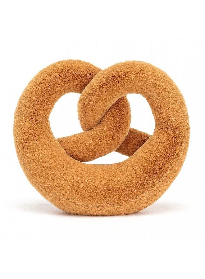 Amuseable pretzel