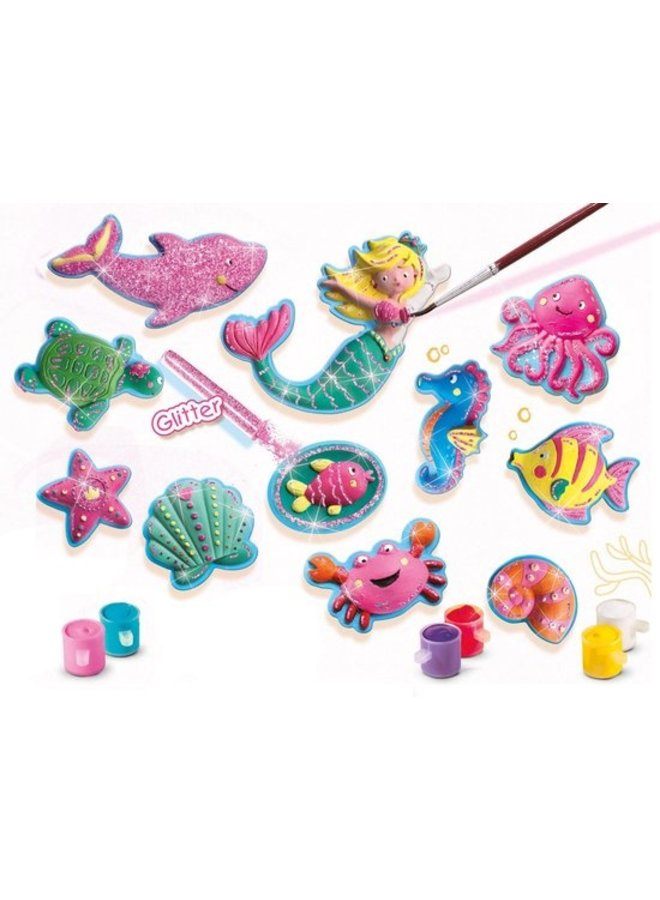 Figuren gieten en schilderen - Oceaanfiguren