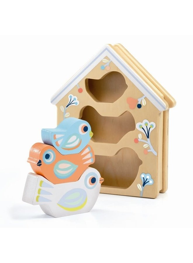 Stapelspeeltje - Baby birdy