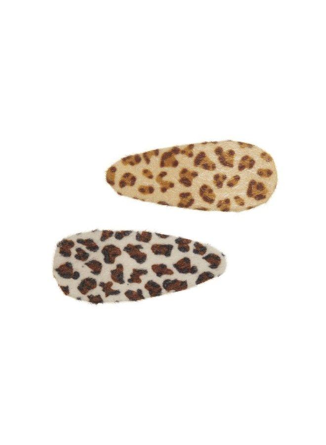 Haarschuifjes - Leopard