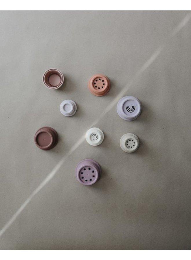 Stapeltoren pastel