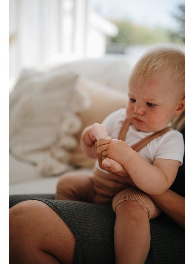 Baby tandenborstel set - Sand / Clay