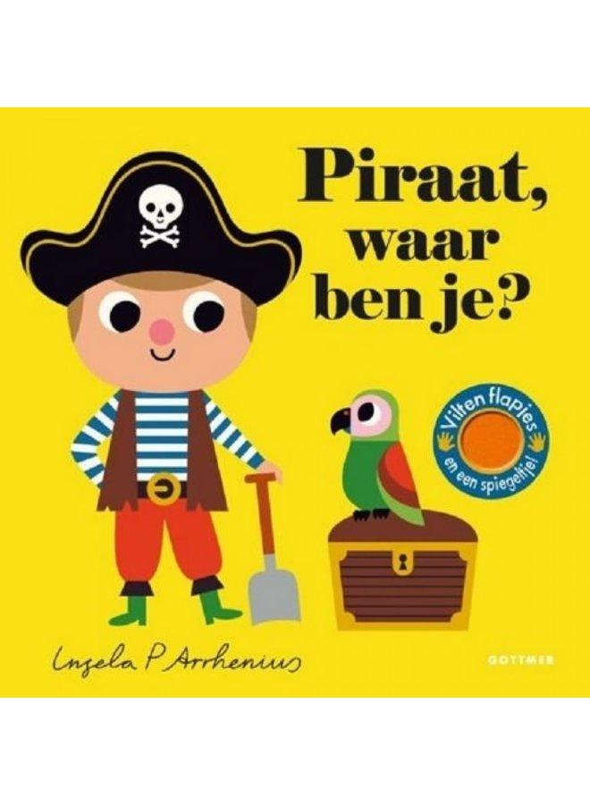Kartonboekje - Piraat waar ben je?