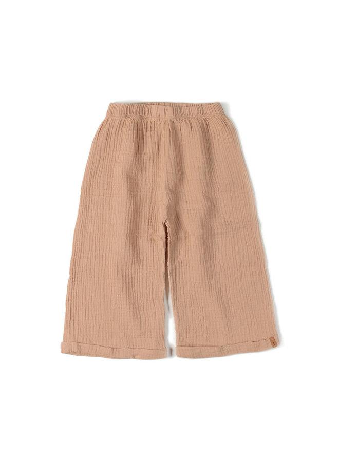 Wide pants nude