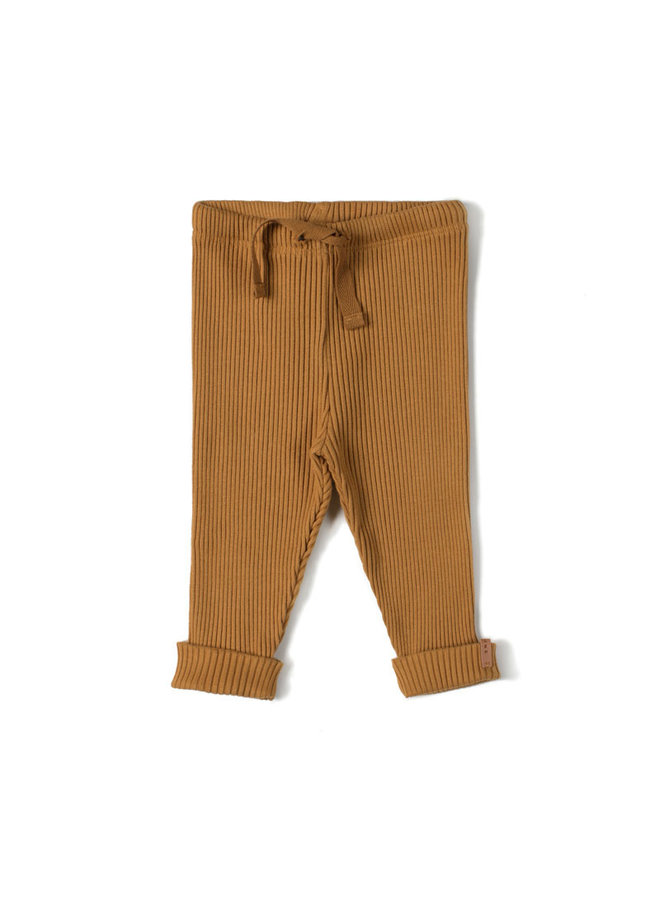 Rib legging - Caramel