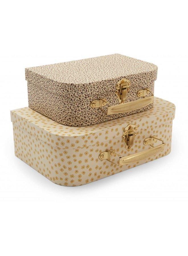 Koffertjes - Buttercup yellow / Rosarie
