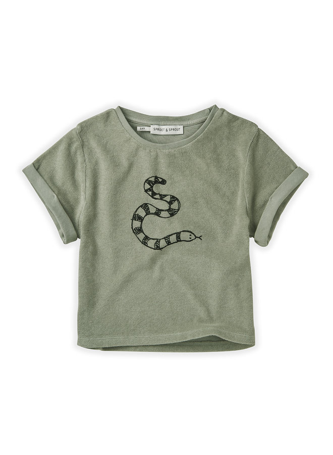 Sweat T-shirt - Terry Snake