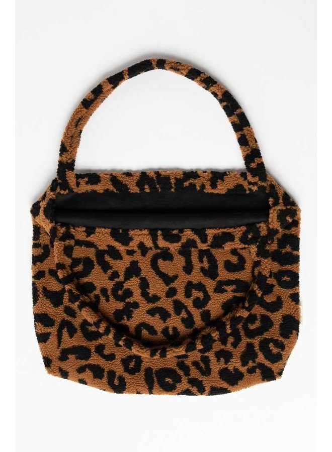 Luiertas Studio Noos - Teddy leopard brown