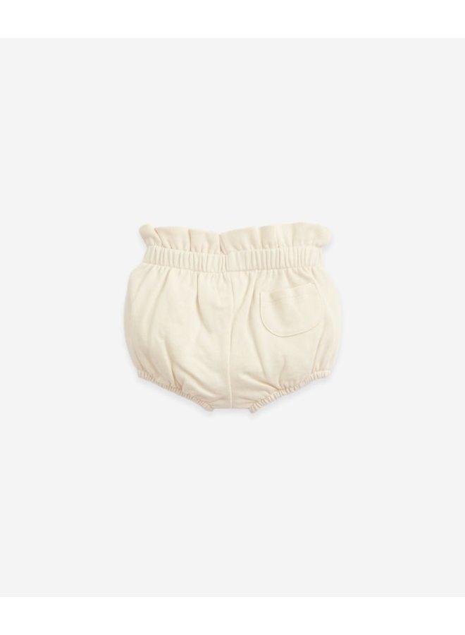Jersey stitch shorts with a pocket - Botany