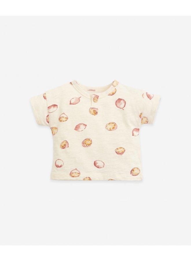 T-shirt Jersey - Printed flamé
