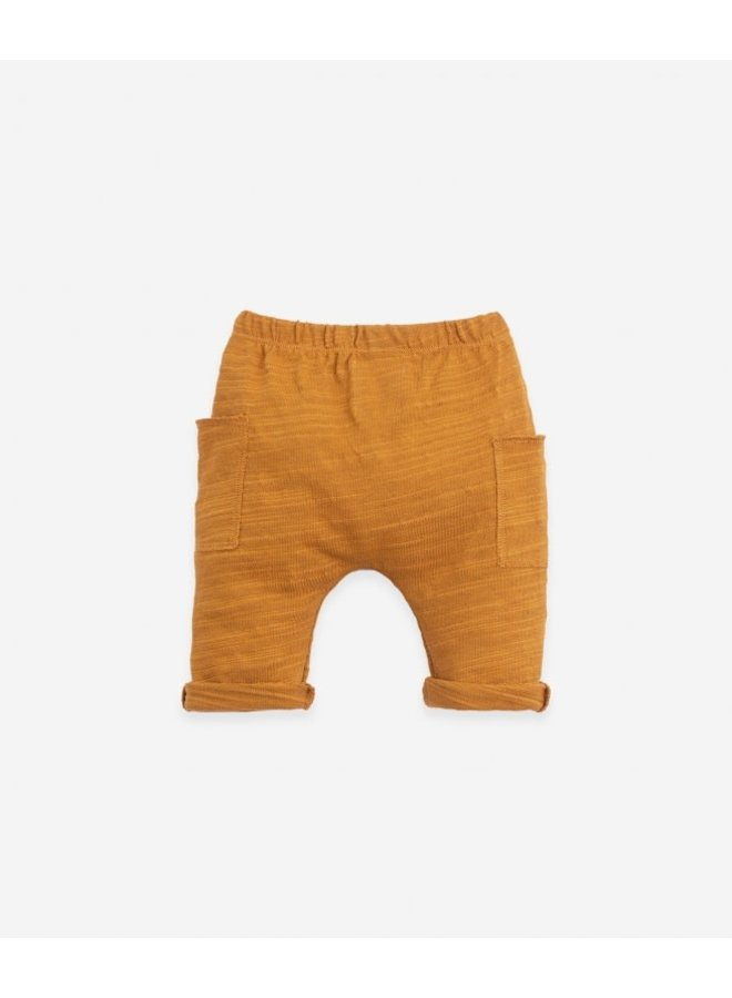 Flamé Jersey trousers - Hazel