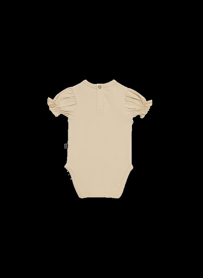Puff shoulder bodysuit - Oatmeal