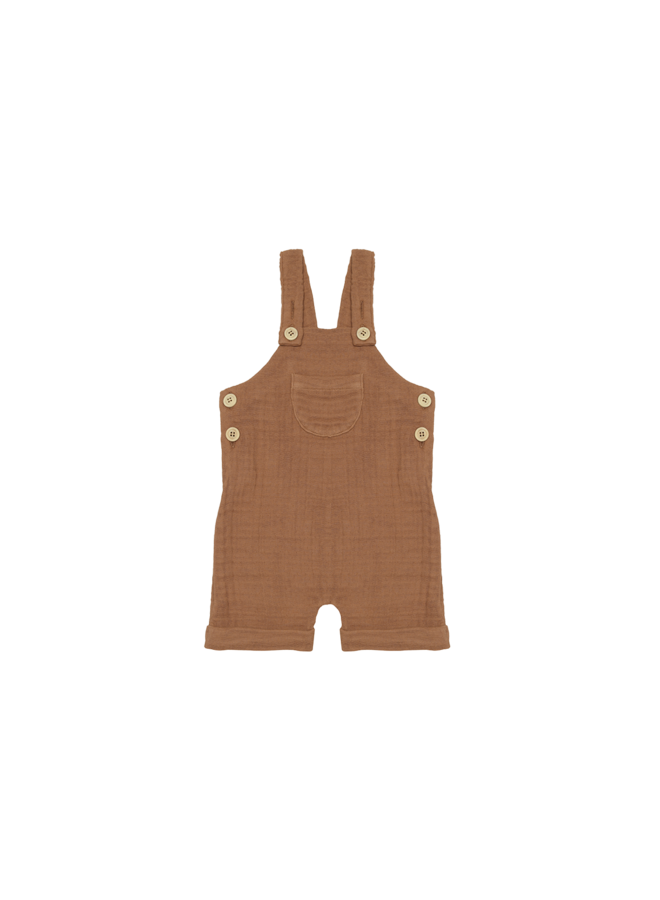 Relaxed dungaree - Burnt ginger