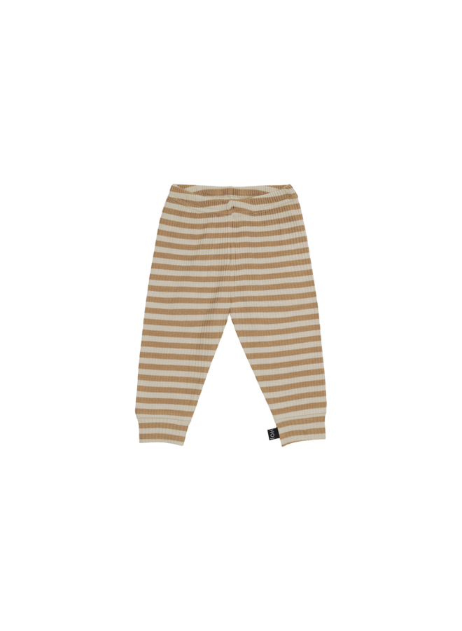 Rib legging - Apple cider striped