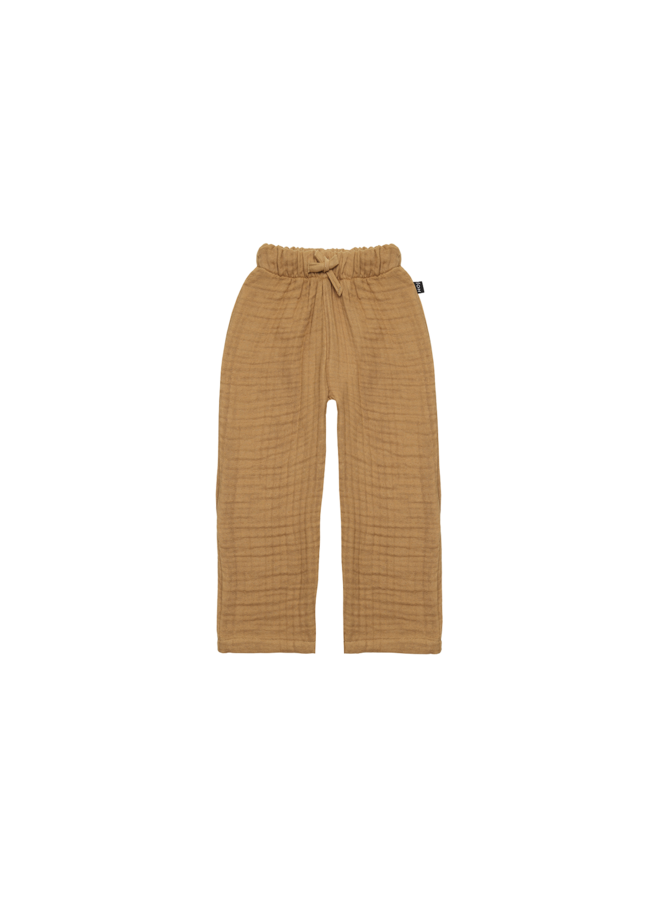 Relaxed pants - Apple cider