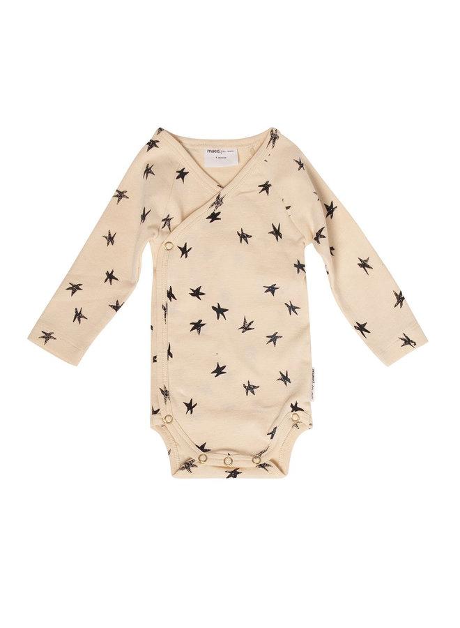 Sandy starfish Newborn romper