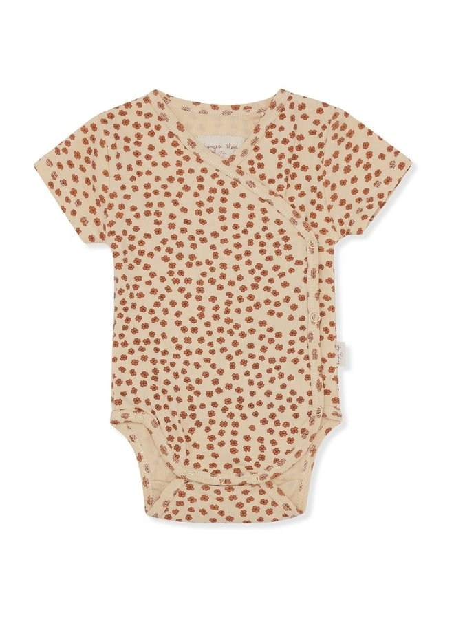 New born body short sleeve - Buttercup rosa