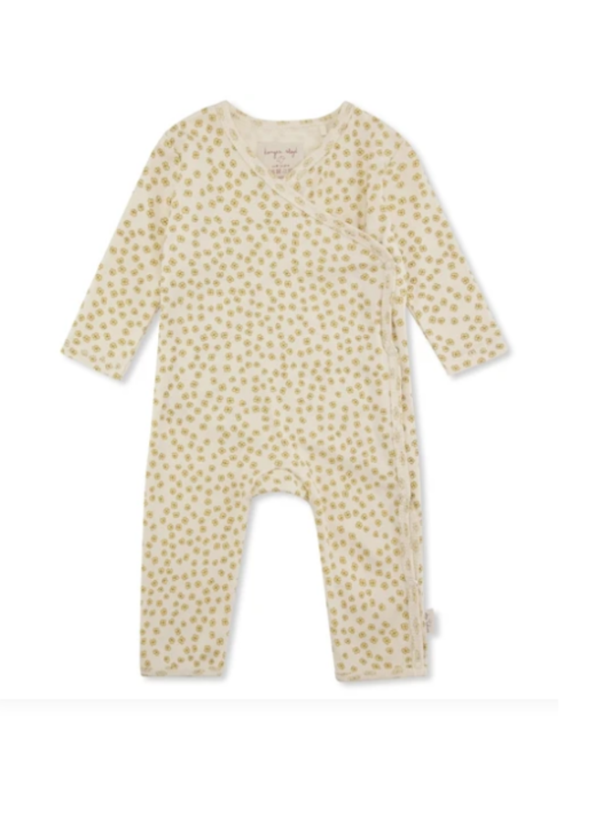 Newborn onesie - Buttercup yellow