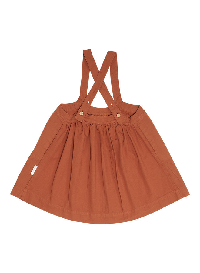 Oversized pinafore dress - Sierra