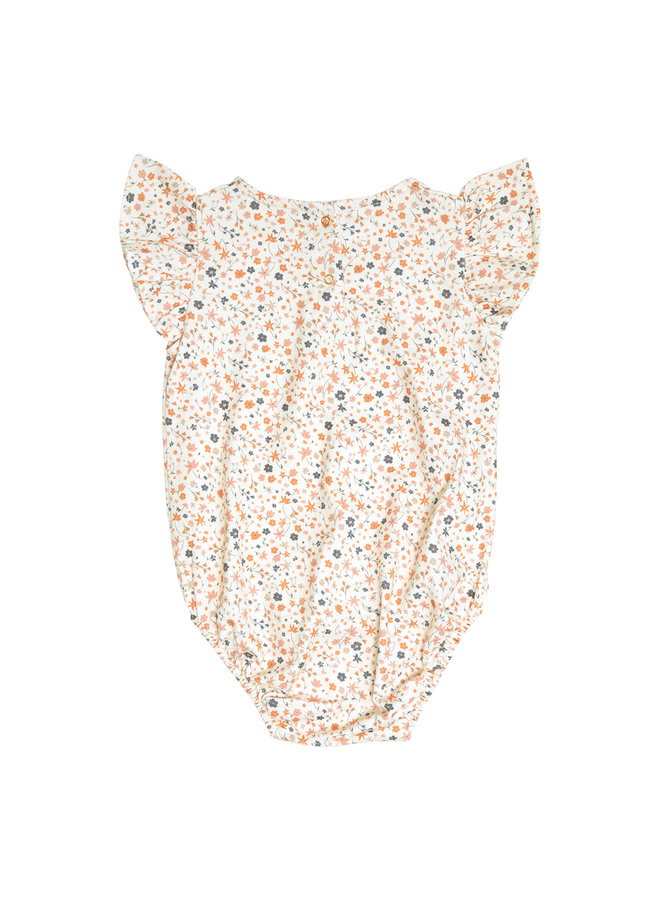 Lily frill bodysuit- Floral print