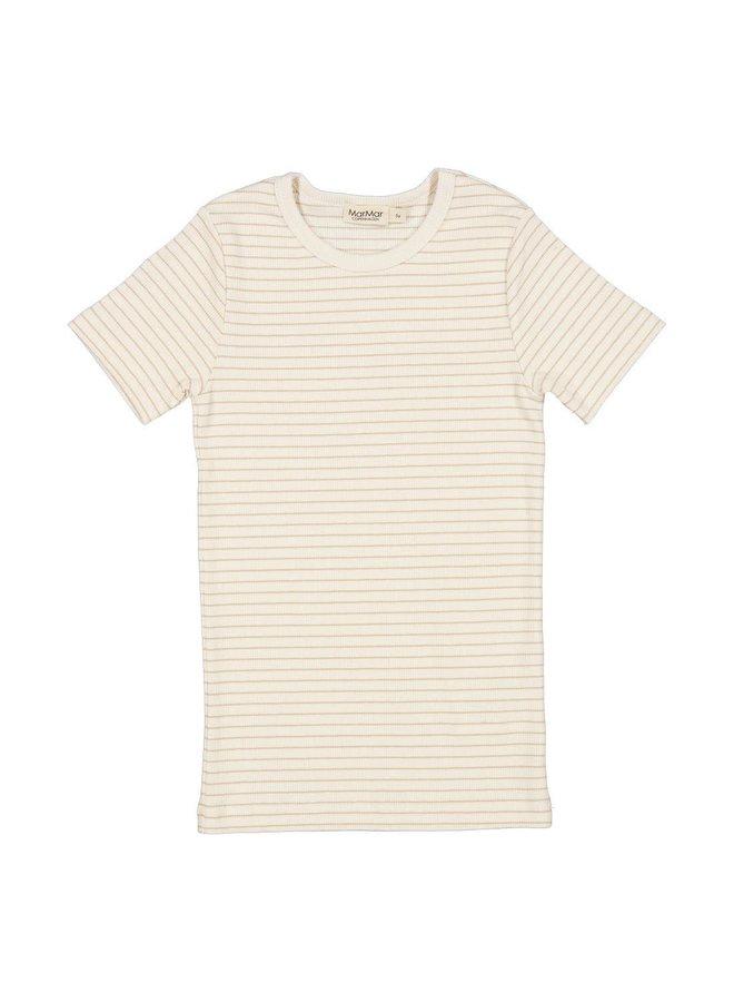 T-shirt modal - Hay stripe