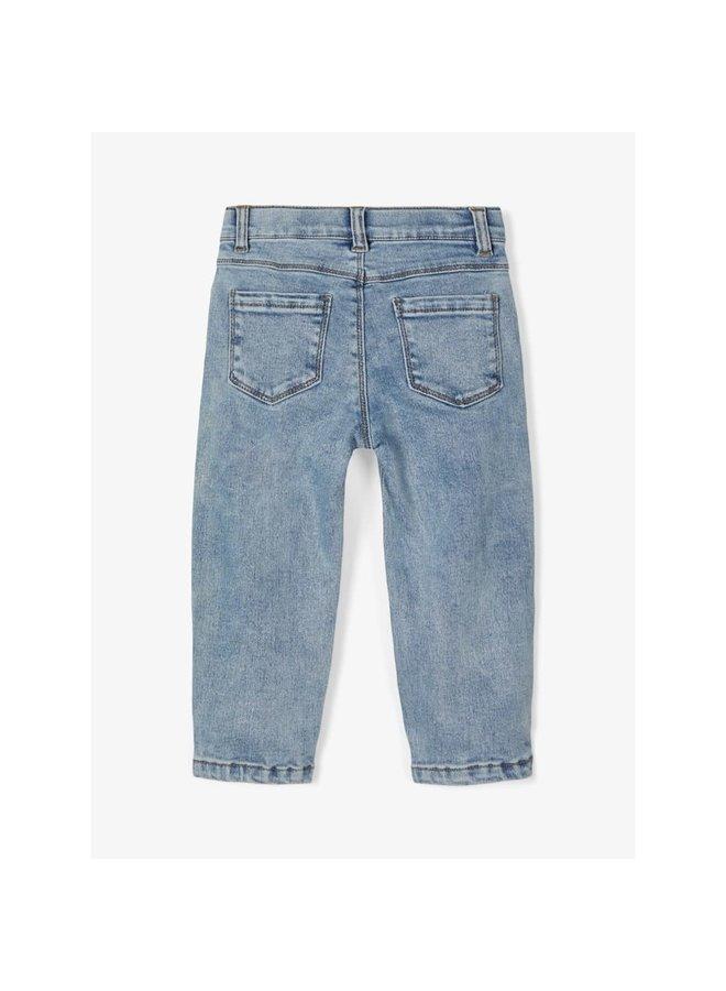 Loose fit jeans - Blauw / Light Blue Denim