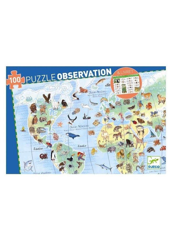 Observatiepuzzel - Dierenwereld