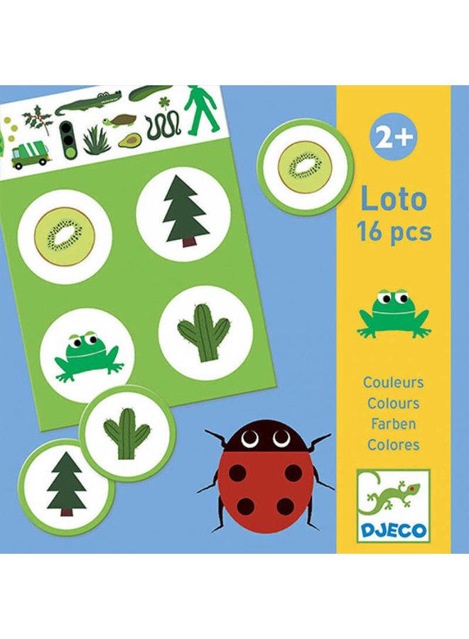 Lotto spelletje - Kleuren