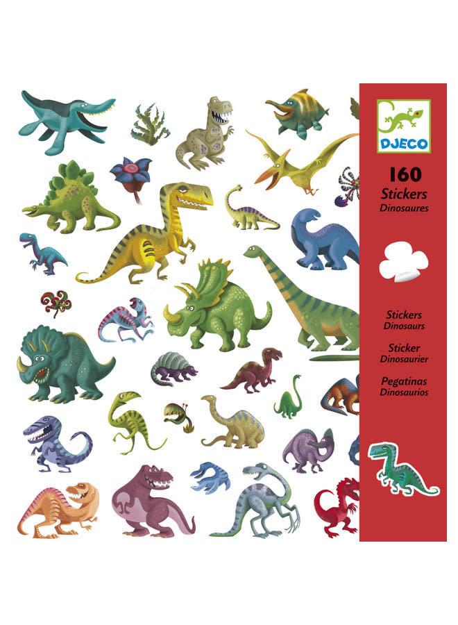 Stickers - Dinosaurussen (160 stuks)