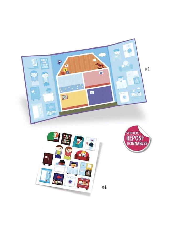 Sticker creaties maken - Huis