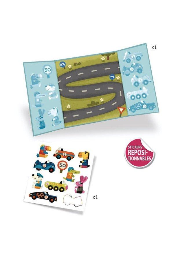 Sticker creaties maken - Auto's