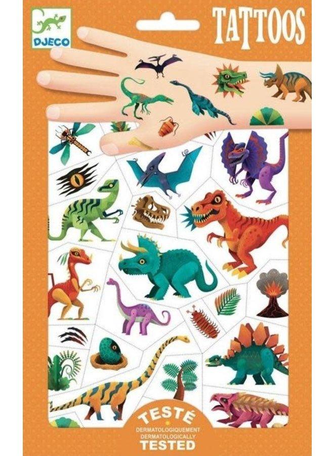 Tattoos - Dino club