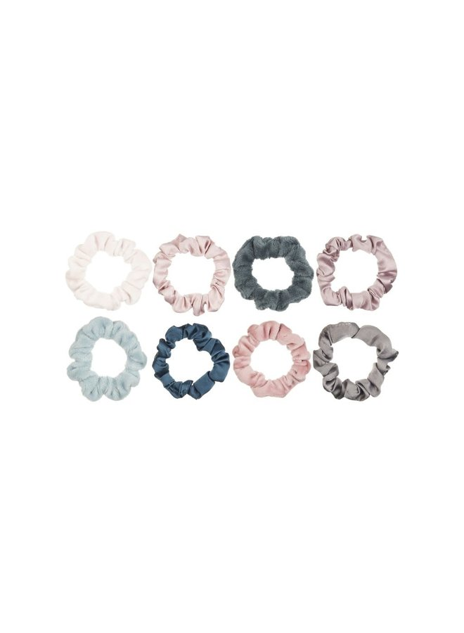 Mini scrunchie pack - Dusky colors