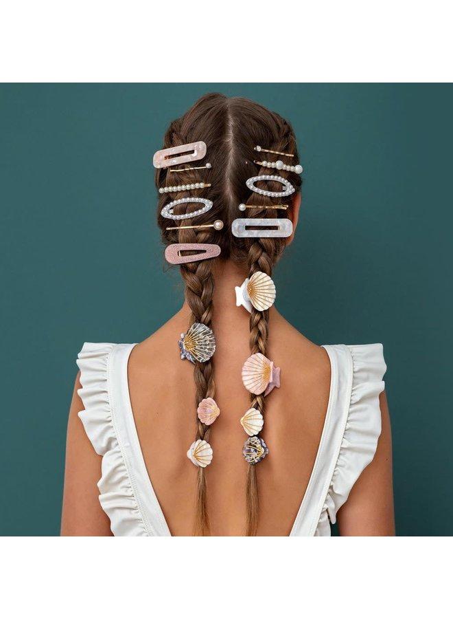 Haarklemmetjes - Shimmer shell