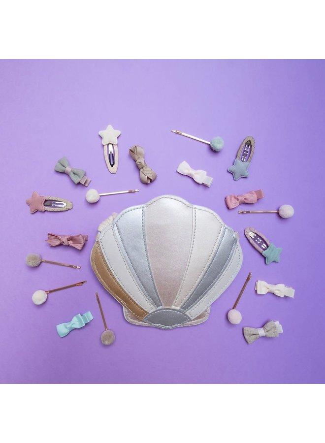 Shimmer shell bag