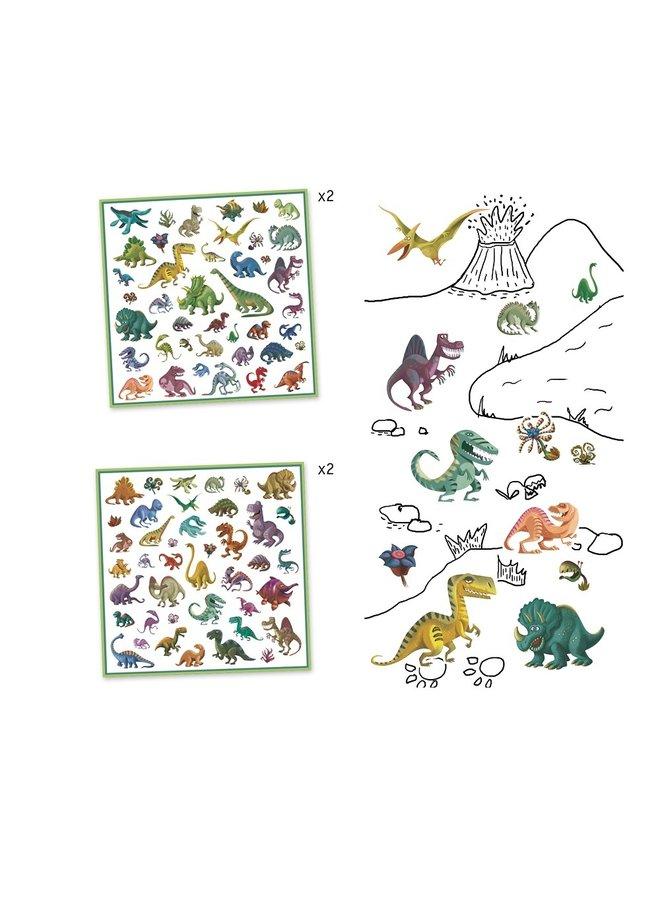 Stickers - Dinosaurussen