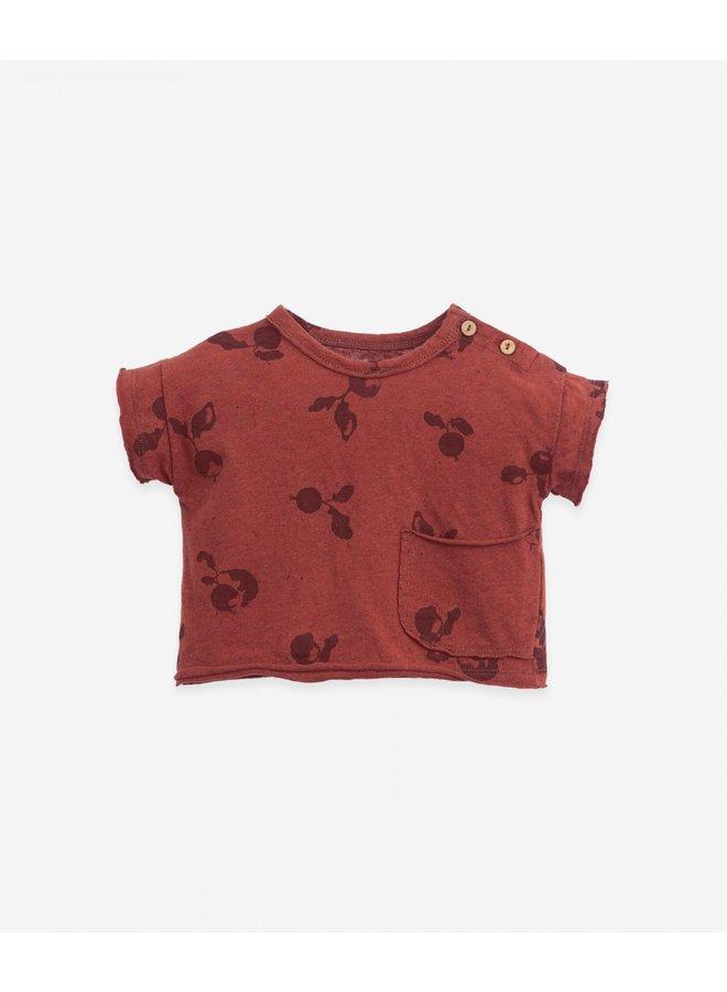 T-shirt radish print - Farm