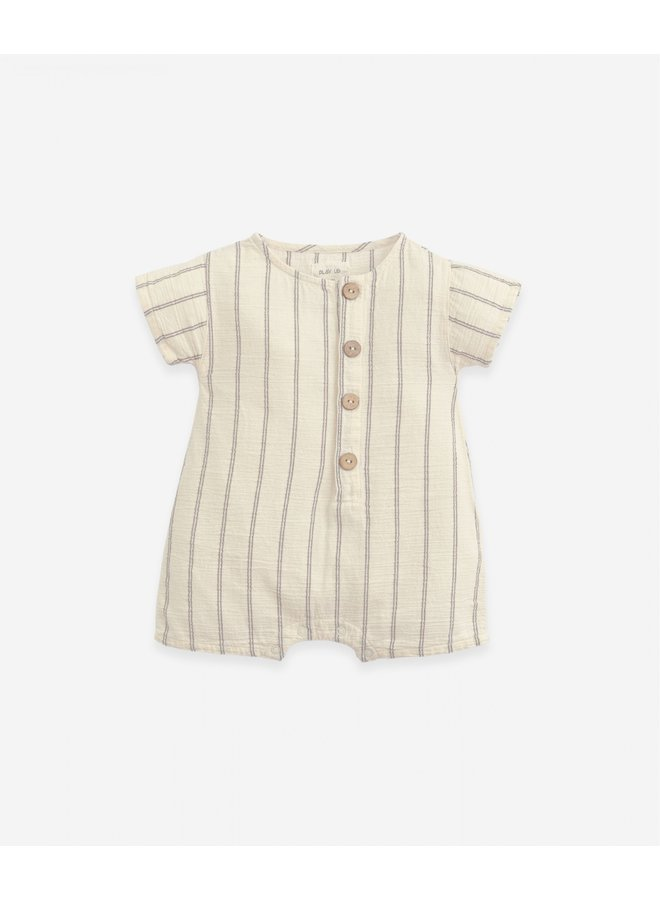 Jumpsuit cotton striped - Dandelion