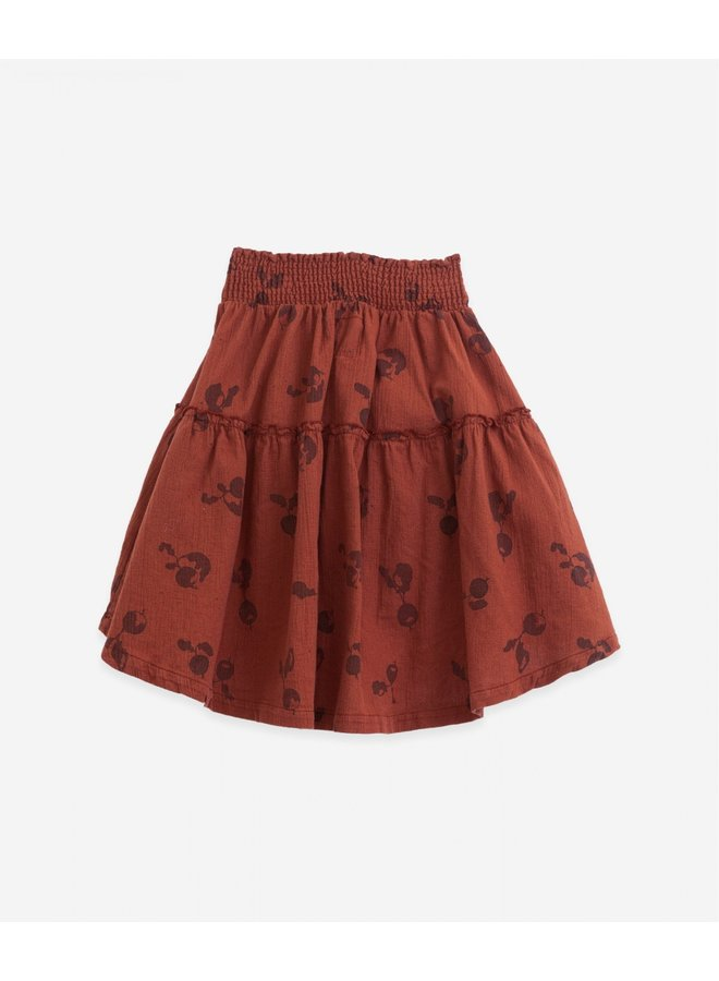 Woven cotton skirt - Farm