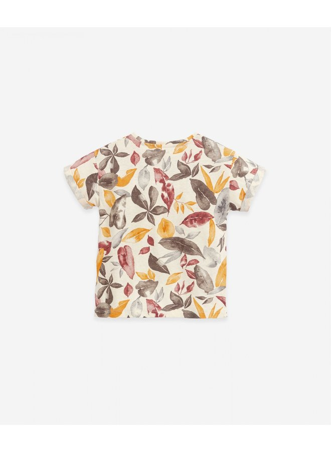 T-shirt printed - Leafes