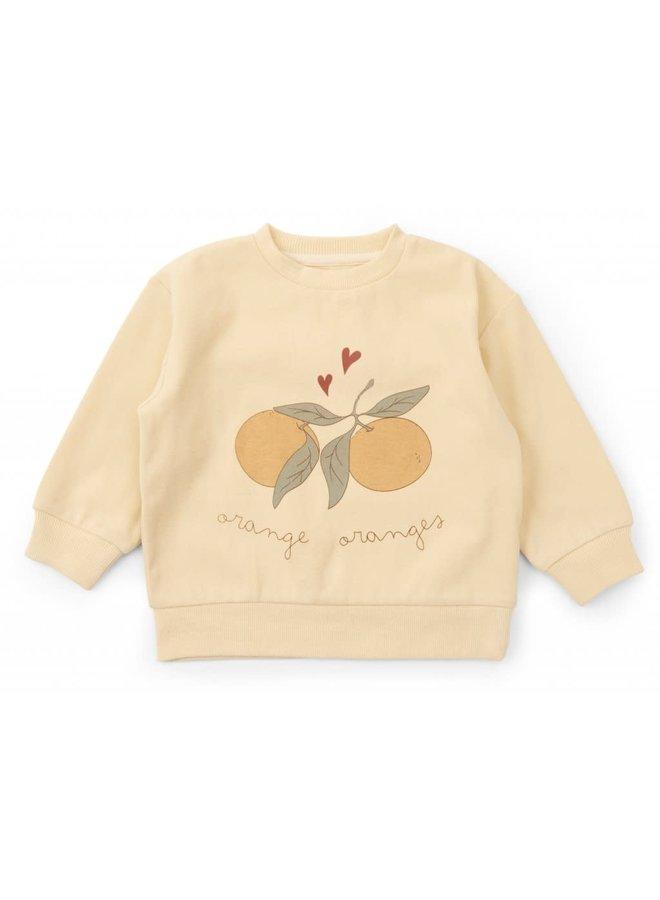 Lou sweatshirt - Apricot