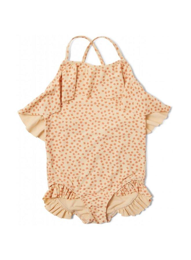 Manuca swimsuit - Buttercup orange