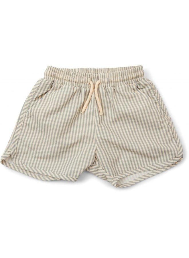 Aster boy swimpants - Light blue stripe