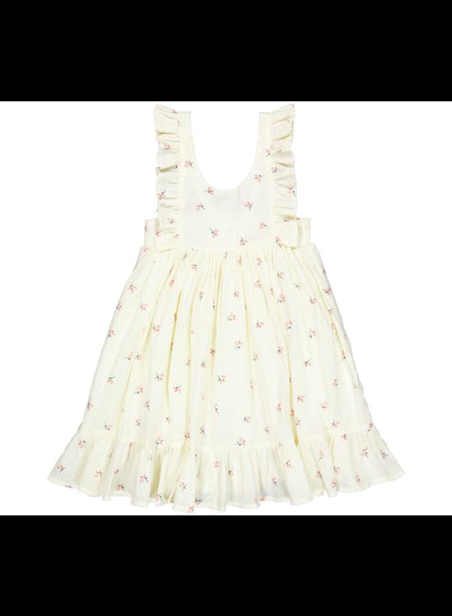 Danita frill dress poppy